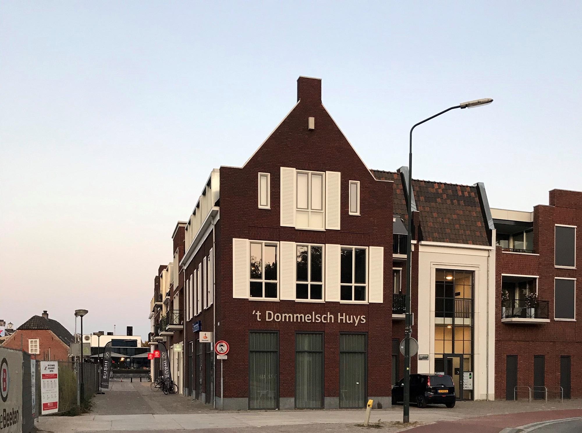 Afbouw verkoopkantoor Rabobank Sint-Michielsgestel