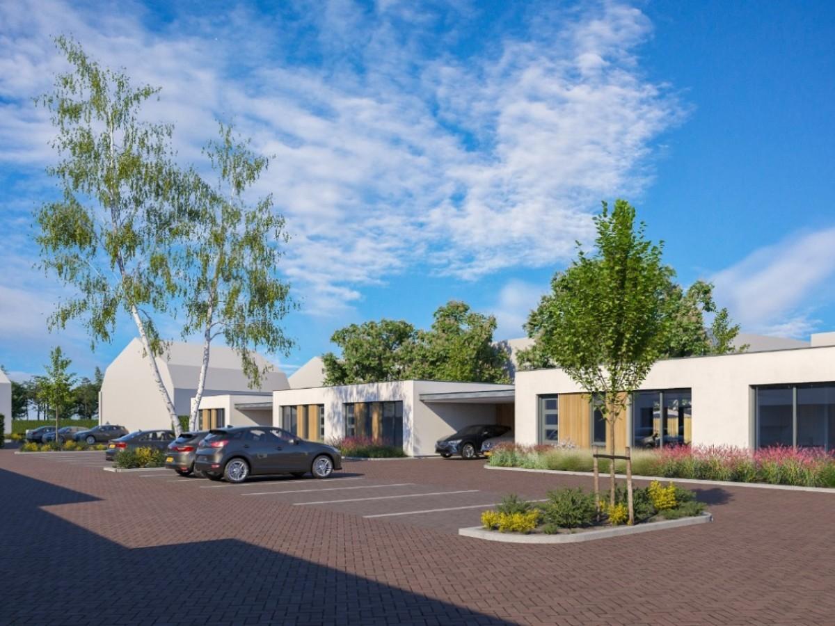 Nieuwbouw 11 patiowoningen en 5 appartementen De Hopbelhof Schijndel