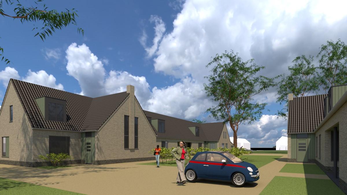 In uitvoering: Nieuwbouw 11 woningen Pastorietuin Liempde
